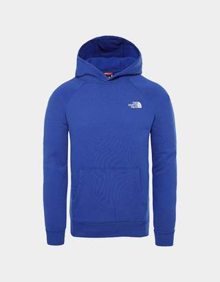 The North Face Raglan Redbox Hoodie Blue
