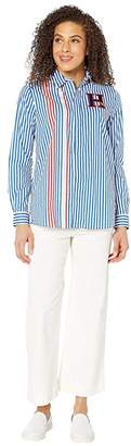 Tommy Hilfiger Adaptive Stripe Shirt with Magnetic Buttons