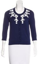 Kate Spade Embellished Button-Up Cardigan