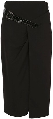 Givenchy Belt-Detailed Pencil Skirt