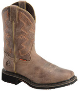 "Men's Double H 13"" Wide Square Western Work Boot"