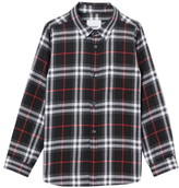 Burberry Frederick Check Flannel Shirt
