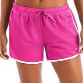 Champion Women's Contrast Trim Mesh Shorts