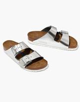 Madewell Birkenstock Arizona Sandals in Leather