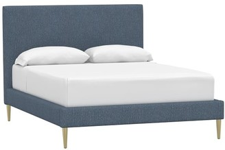 Pottery Barn Teen Ellery Essential Upholstered Bed