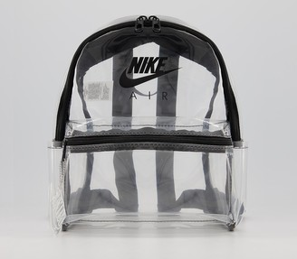 Nike Just Do It Backpack Clear Black