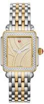 Michele Women's Deco Diamond Diamond Dial Bracelet Watch Head & Bracelet, 29Mm X 31Mm