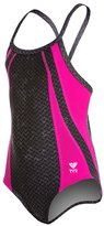 TYR Pink Viper Youth Diamondfit One Piece Swimsuit 8132144