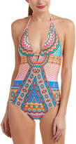 Laundry by Shelli Segal Halter One-Piece