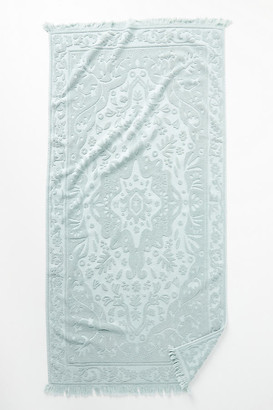 Anthropologie Gira Towel Collection By in Green Size BATH TOWEL