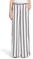 1 STATE 1.State Striped Wide Leg Pant