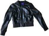 Jimmy Choo For H&M For H&m Black Leather Leather Jacket for Women