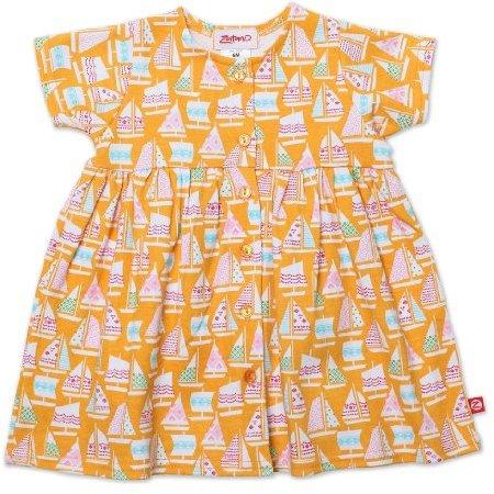 Zutano Baby-girls Infant Riviera Shorts Sleeve Dress