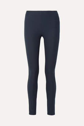 Joseph Stretch-gabardine Leggings - Navy