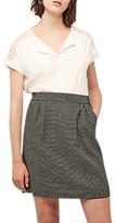 Gerard Darel Amour Pocket Detail Pencil Skirt, Monochrome