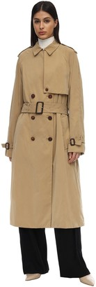 The Row Triana Waterproof Canvas Trench Coat