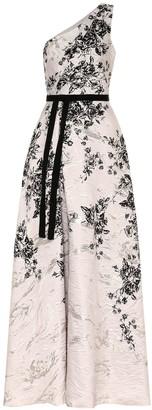 Marchesa Floral gown