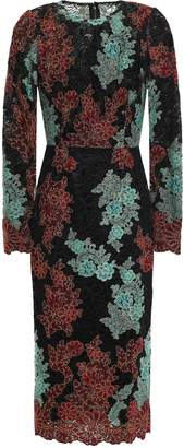 Dolce & Gabbana Embroidered Corded Lace Dress