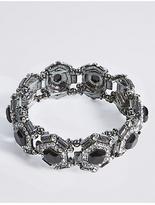 M&S Collection Diamanté Gem Stretch Bracelet