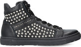 Philipp Plein Asher leather trainers