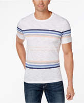 INC International Concepts Men's Striped Crew-Neck T-Shirt, Created for Macy's