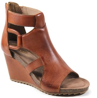 Diba True Peep-Toe Wedge Sandals - Night Out