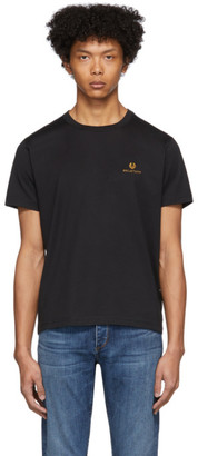 Belstaff Black Embroidered Logo T-Shirt