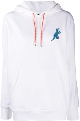 Paul Smith Dino-print organic cotton hoodie
