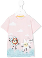 Fendi printed T-shirt - kids - Cotton - 9 mth