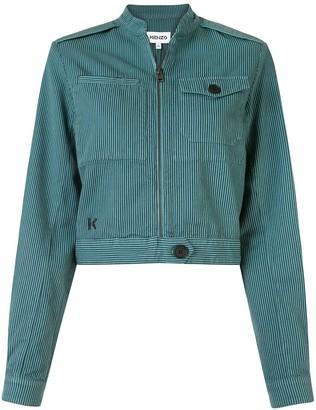 Kenzo Overdyed Oversized Blouson Jacket