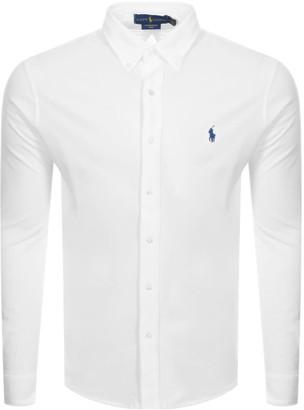 Ralph Lauren Featherweight Mesh Shirt White