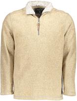 True Grit Oatmeal Half-Zip Pullover