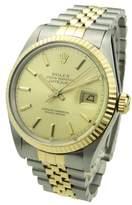 Rolex Rolex Datejust Steel And Gold 16233