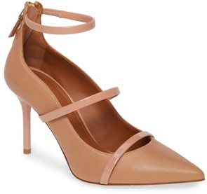 Malone Souliers Robyn Ankle Strap Pump