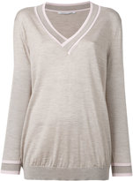 Agnona slub knit sweater