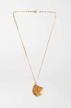Alighieri Old Times' Sake Gold-plated Necklace
