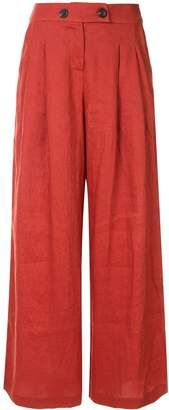 SUBOO Rising Sun wide leg trousers
