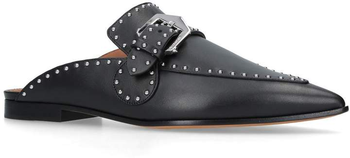 Givenchy Leather Elegant Slippers