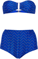 Missoni High Waisted Matching Bikini Set