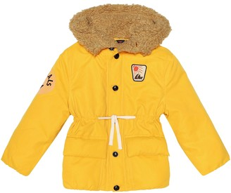 The Animals Observatory Calf puffer jacket