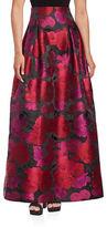 Eliza J Floral Jacquard Ball Skirt