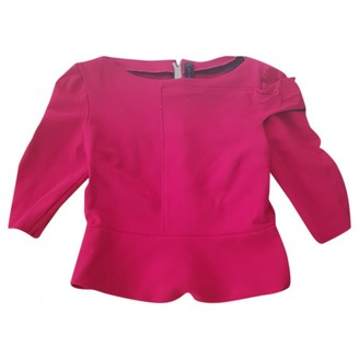Roland Mouret Red Top for Women