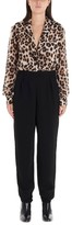 Moschino Leopard Printed Jumpsuit