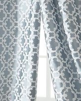 "Softline Home Fashions Each 55""W x 108""L Palisade Tile Curtain"