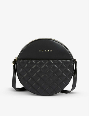 Ted Baker Cirus small quilted-leather cross-body bag