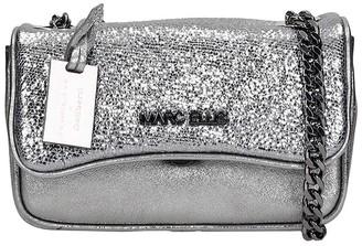 Marc Ellis Brodway S Shoulder Bag In Silver Leather