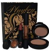 Playboy Bronze Bunny Gift Set With Bronzing Powder, Illuminator & Lipstick by
