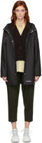 Stutterheim Black Stockholm Lightweight Raincoat
