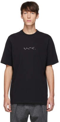 Oamc Black Foulard T-Shirt