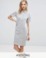 ASOS Tall ASOS TALL Clean Polo Shirt Dress